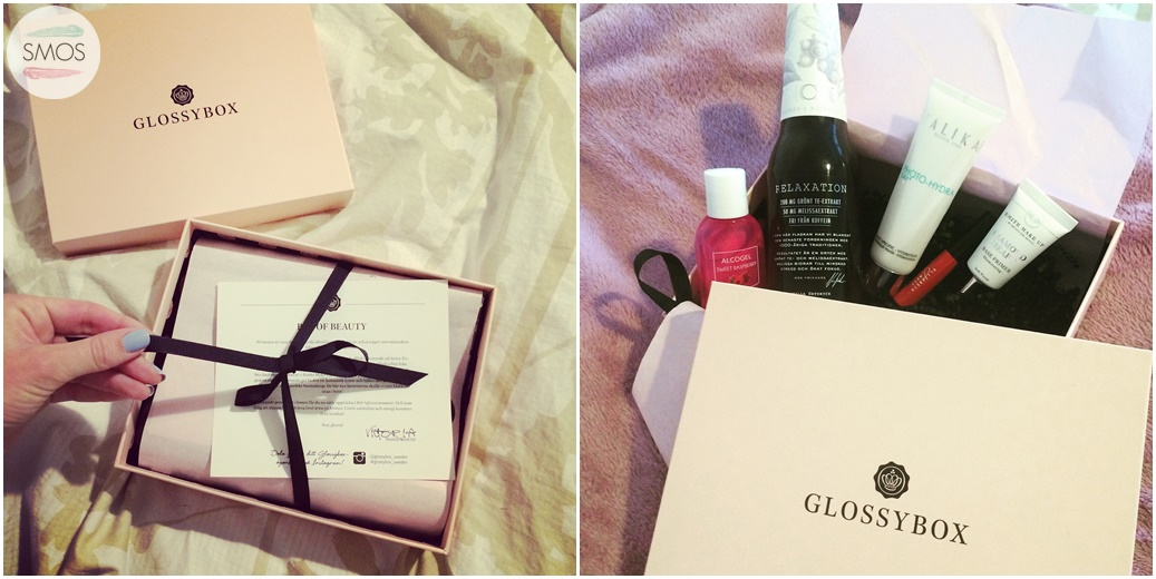 glossybox unboxing october