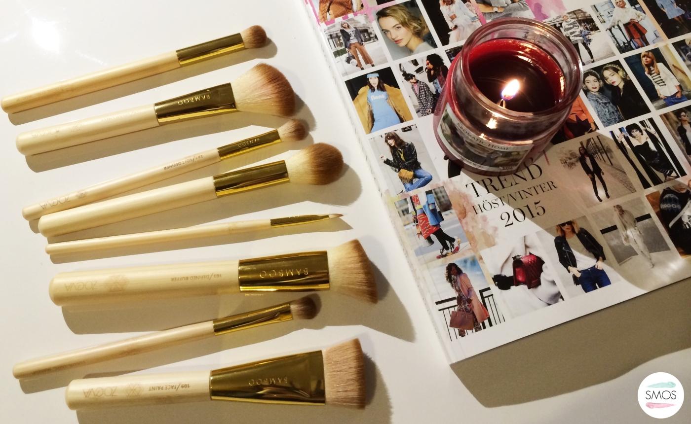 Zoeva Bamboo Vegan Brush Set Makeup Brushes review