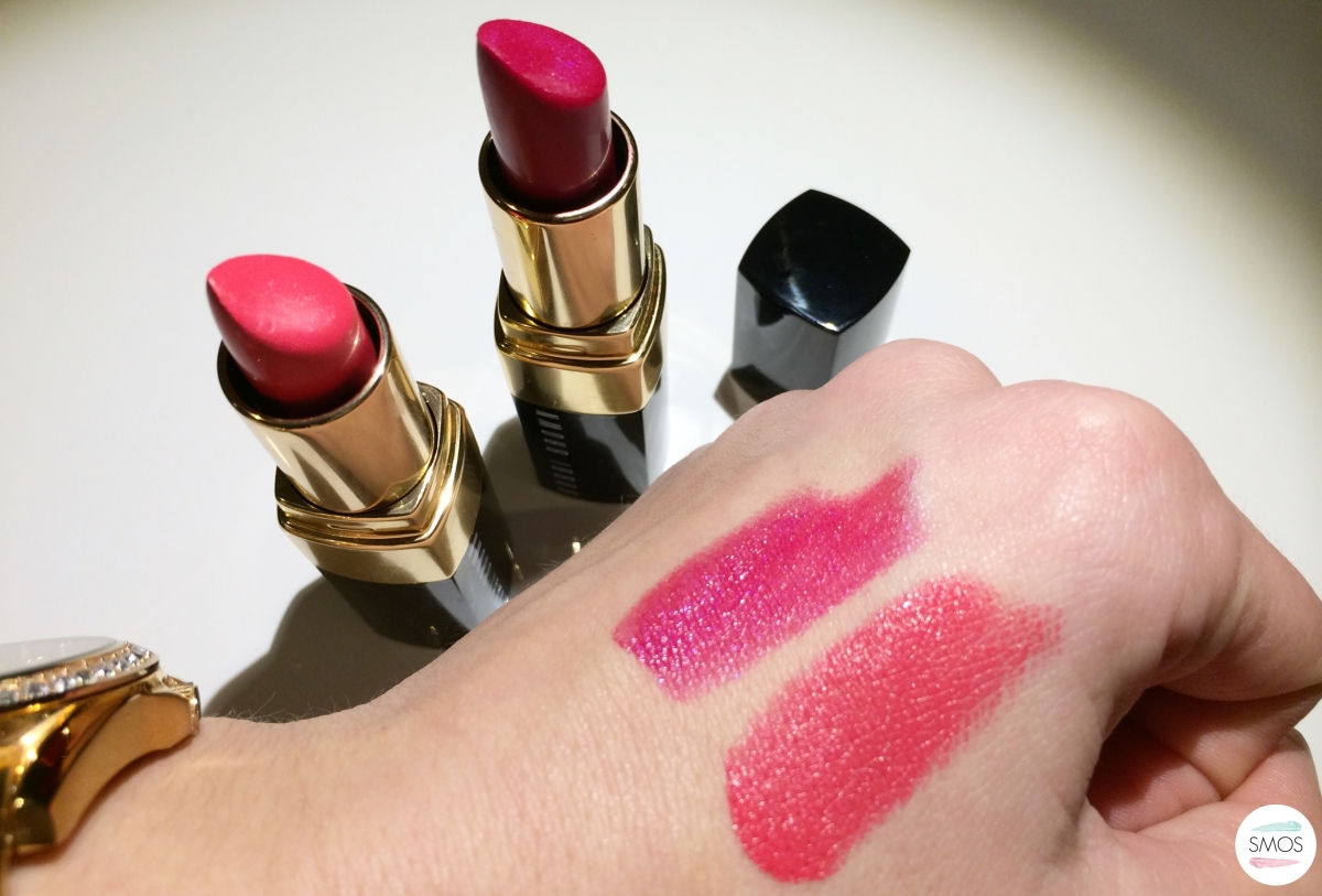 Bobbi Brown Lipsticks Review + Swatches |Watermelon & Hot Berry|