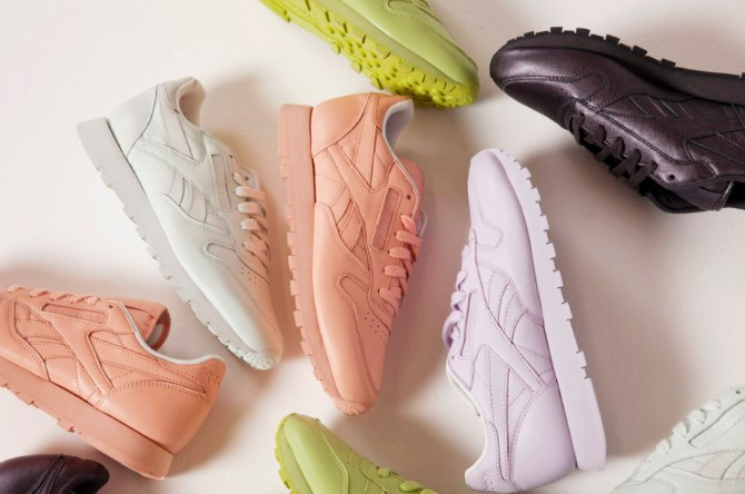 Reebok Classic and Face Stockholm sneakers