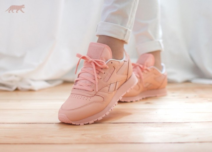 reebok classic and face stockholm pastel colors