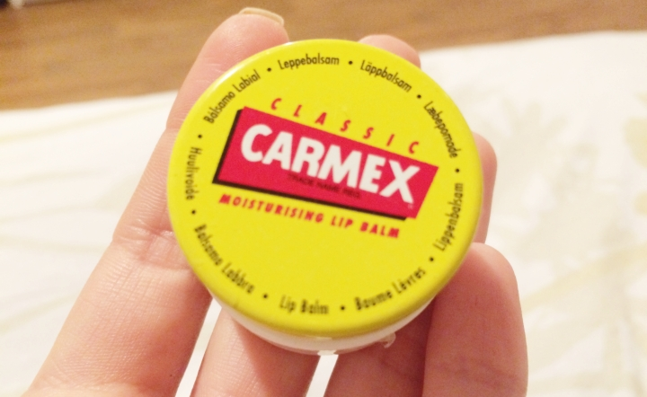 Carmex Moisturizing lip balm review february beauty favorites