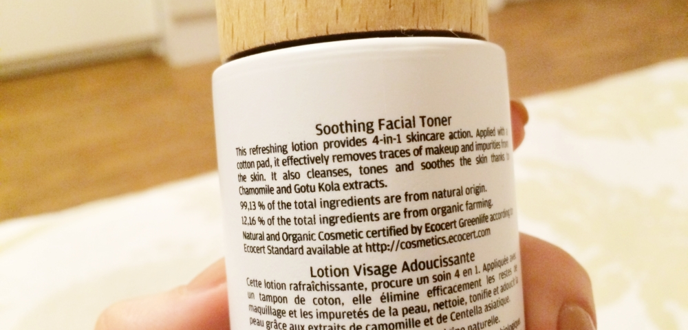 Naobay Calming Face Skin Toner, Natural and Organic, Review, Skincare February Beauty Favorites
