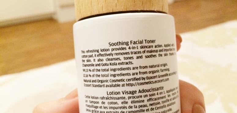 Naobay Calming Face Skin Toner, Natural and Organic, Review, Skincare February Beauty Favorites