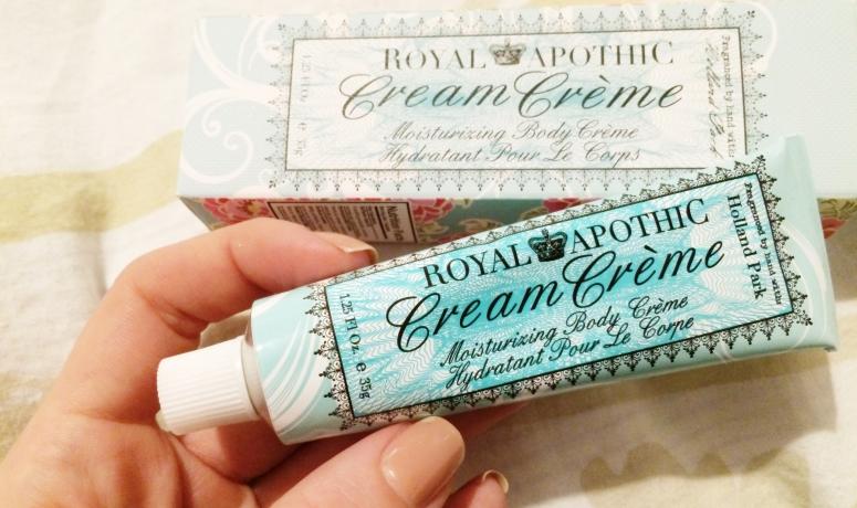 Royal Apothic Moisturizing Body Cream February Beauty Favorites