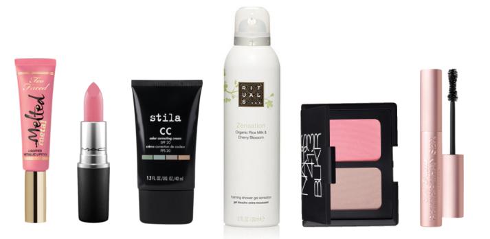 cosmetics wishlist too faced, mac, stila, rituals, nars