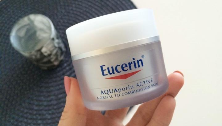 Eucerin AQUAporin Active Normal to combination skin face cream moisturizer