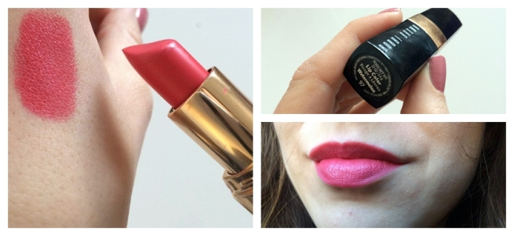 Bobbi Brown Watermelon Lip Color Lipstick Matte Pink Coral Square Mie of Style