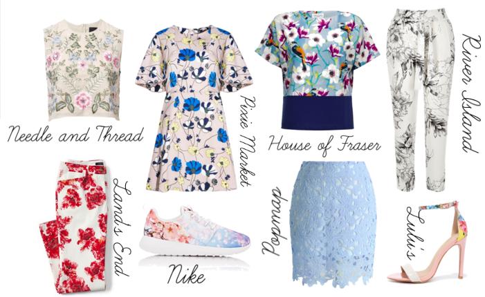floral print fashion spring