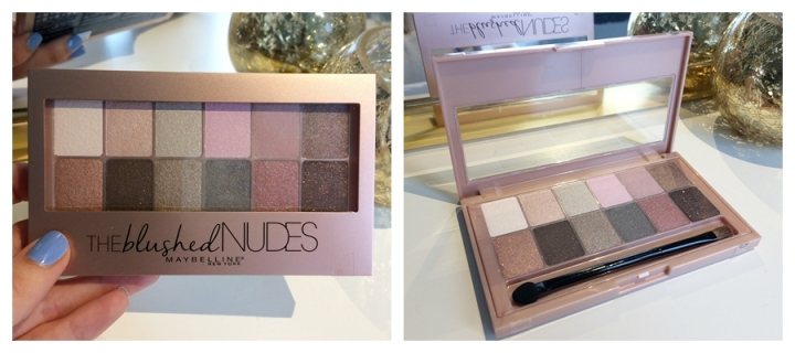 international giveaway maybelline the blushed nudes palette