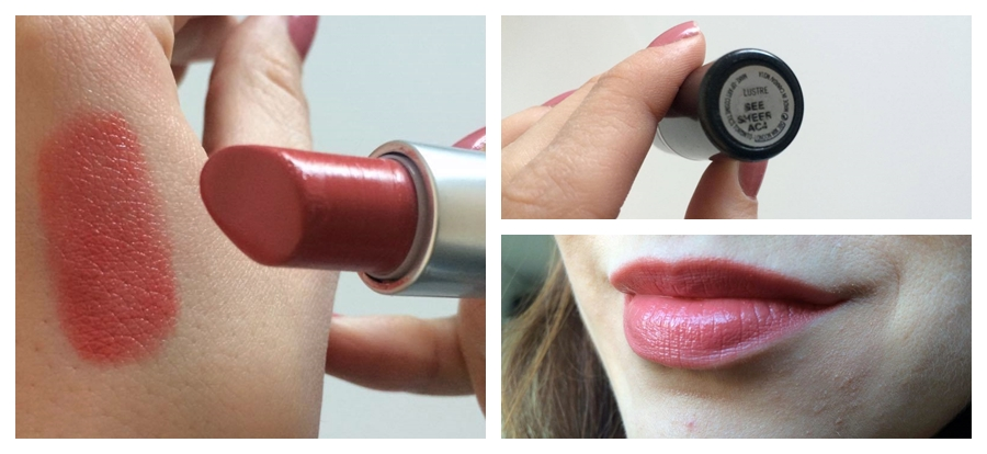 MAC Luster Sea Sheer Lipstick Square Mile of Style