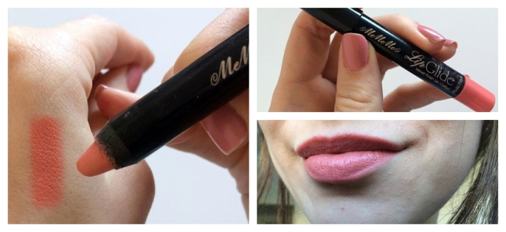 Mememe Cosmetics Lip Glide Lip Pencil Pastel Nude Coral Square Mile of Style