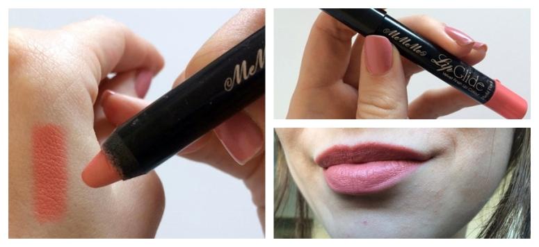 Mememe Cosmetics Lip Glide Lip Pencil Pastel Nude Coral Square Mile of Style