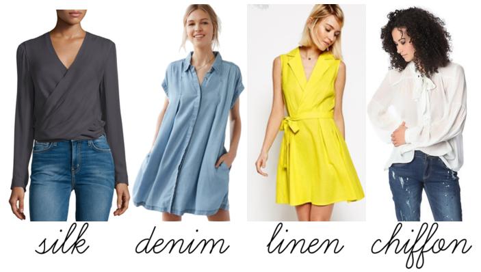spring fashion materials