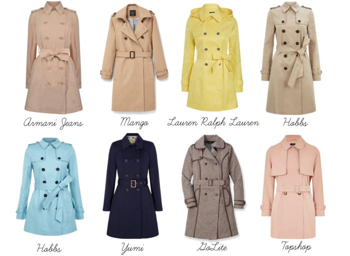 spring trends trench coat wardrobe makover
