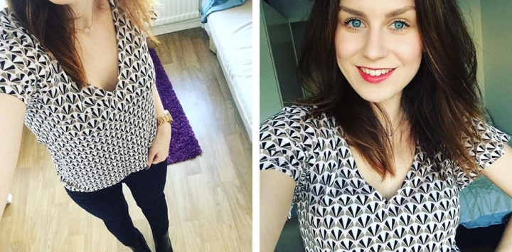 Square Mile of Style What I wore this week capsule closet outfits 2