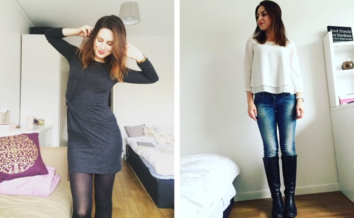 Square Mile of Style What I wore this week capsule closet outfits 4
