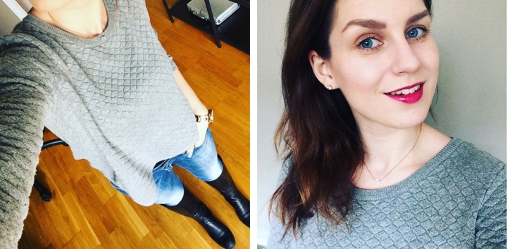 Square Mile of Style What I wore this week capsule closet outfits 5