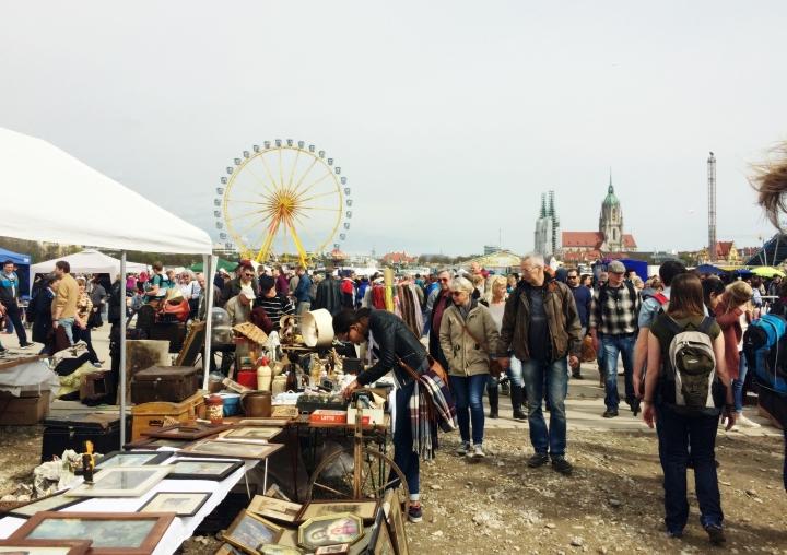 Munich Flea market Bavaria Saturday Weekend Report 5