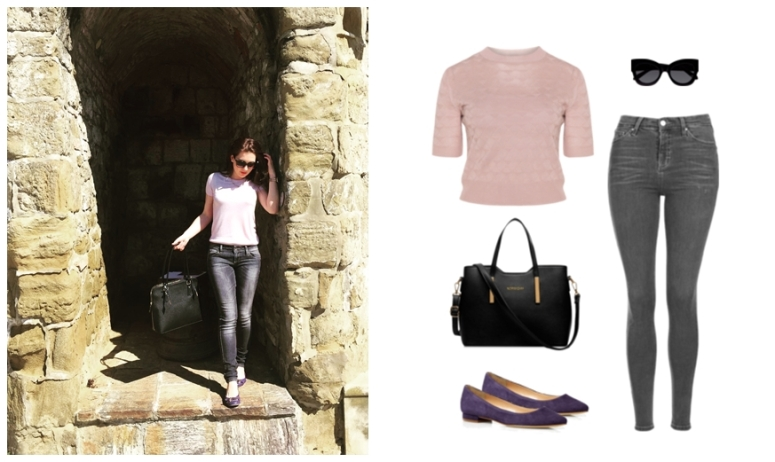 what i wore this week april square mile of style 4-tile