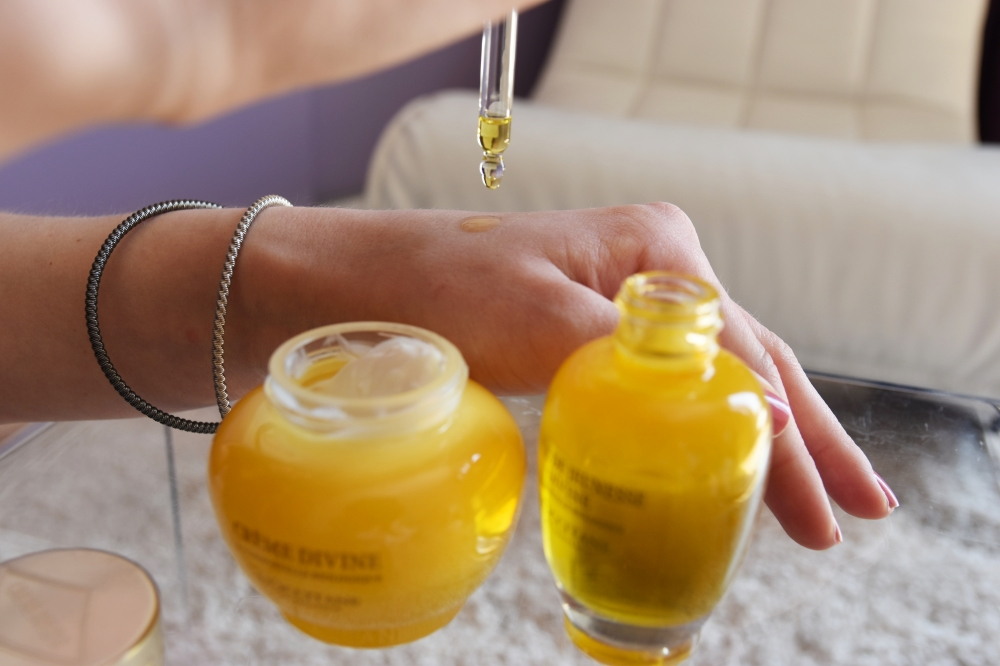 L'Occitane Skincare Oil and Face Cream Divine Review Square Mile of Style