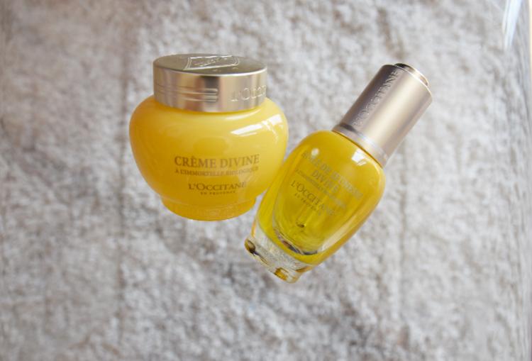L'Occitane Skincare Oil and Face Cream Divine Review