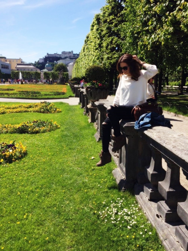 Salzburg city trip austria travel with me square mile of style mirabell castle
