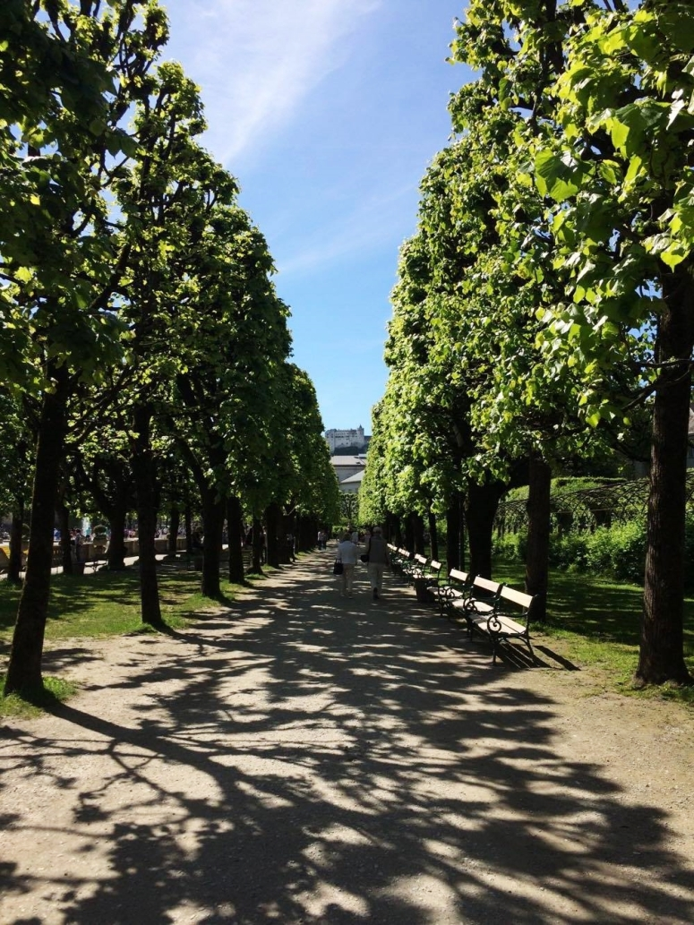 Salzburg city trip austria travel with me square mile of style mirabell garden