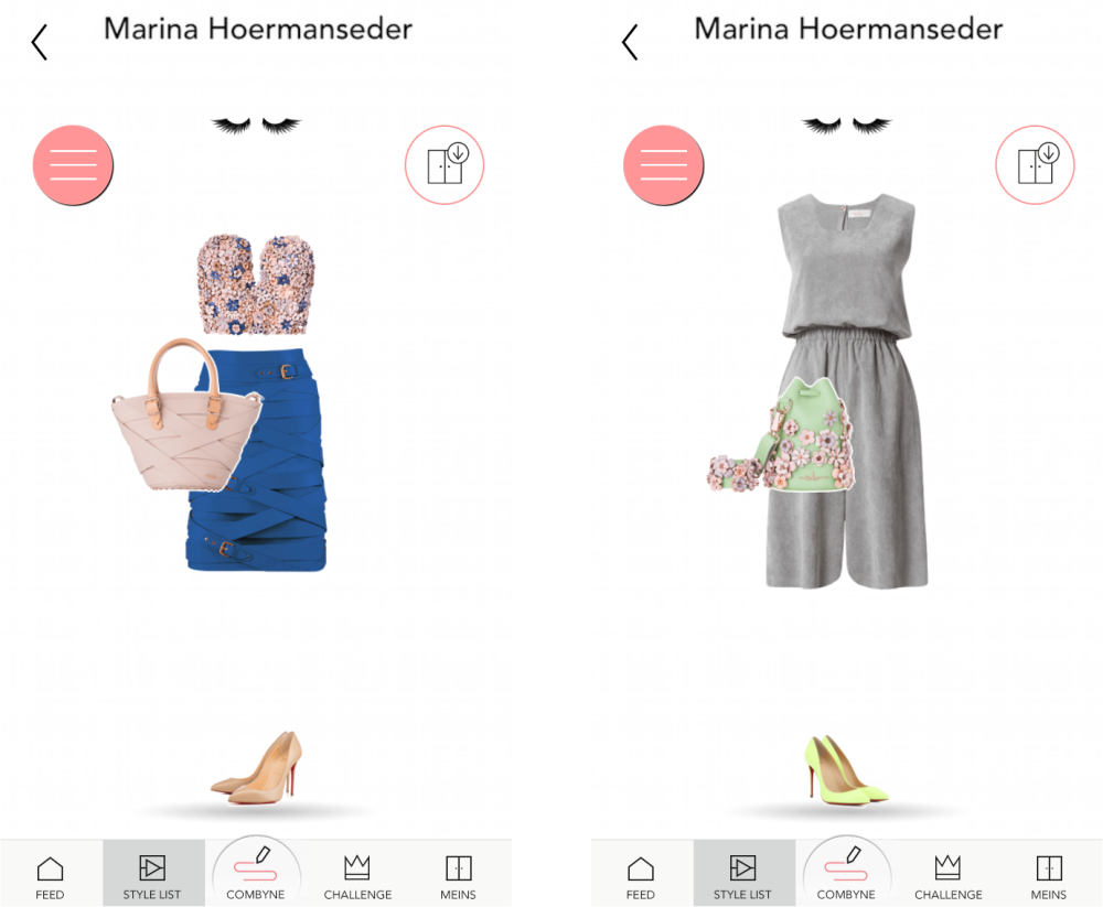 marina hoermanseder combyne collection