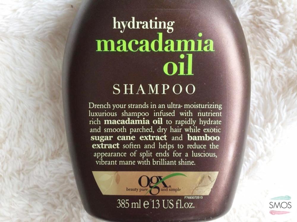hydrating hair care routine hydrating macadamia oil shampoo ogx