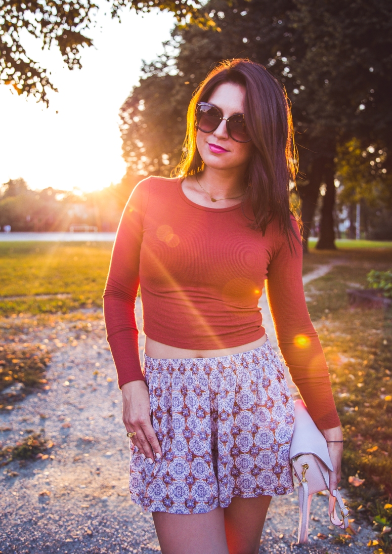 casual boho street style look outfit of the day