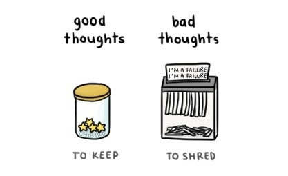 good and bad thoughts