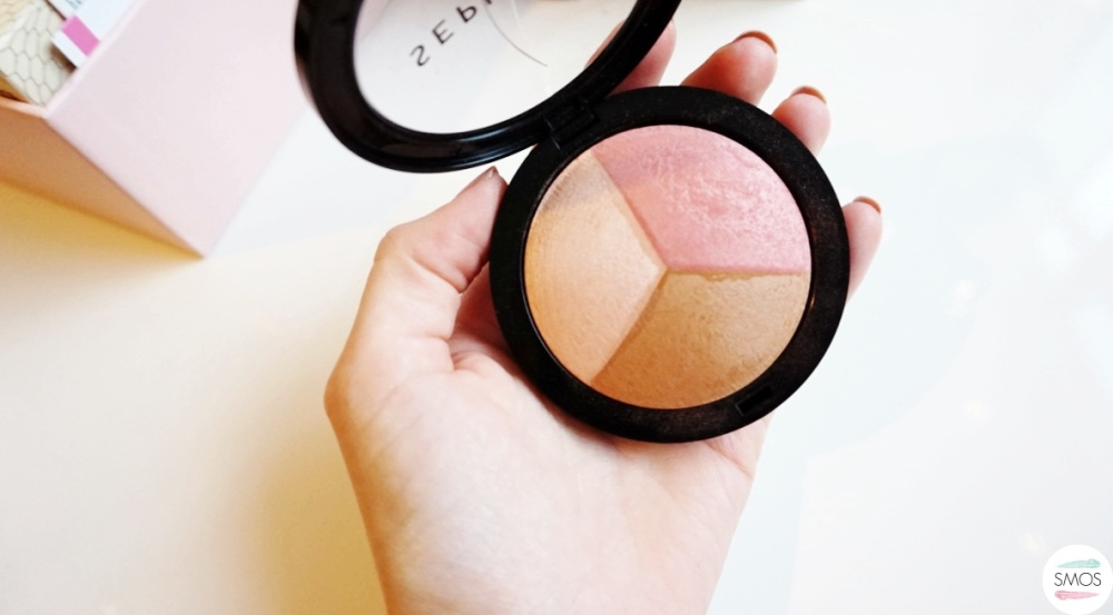 BEAUTY haul new in my cosmetics bag sephora trio sculpt blush highlighter and bronzer