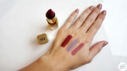 BEAUTY haul new in my cosmetics bag loreal color riche 392 tanzania rubis