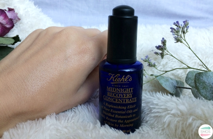 Kiehl's midnight recovery concentrate review and first impressions