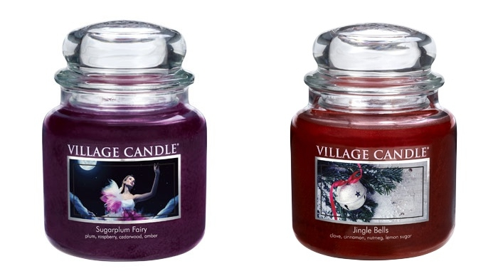 village-candle-holiday-sugarplum-fairy-tile
