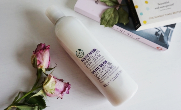 the body shop white musk lotion square mile of style