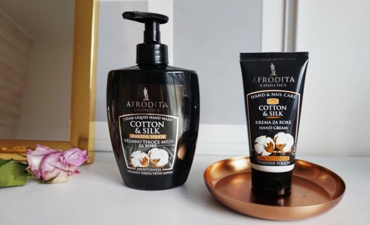 afrodita cosmetics cotton & silk krema i sapun za ruke square mile of style