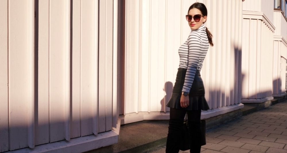 Square Mile Of Style Stripes TurtleNeck Style Diary