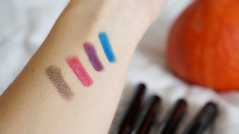 OMBRE HYPNÔSE STYLO SHADOW STICK review and swatch amethyste blue chrome quartz rose platine